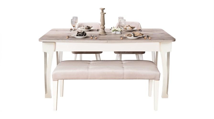 Emily Yemek Masası Sandalye Bench