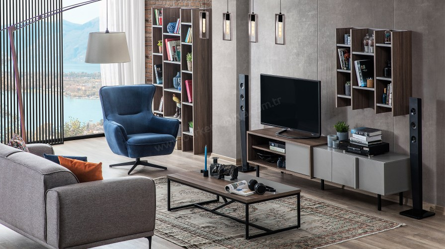 Flat Modern Tv Ünitesi