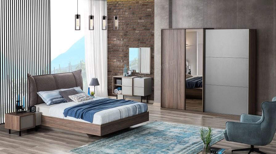 Flat Modern Yatak Odası Takımı