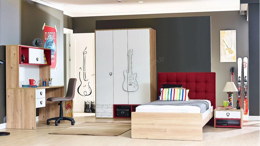 Gitar Genç Odası Takımı Mini Set