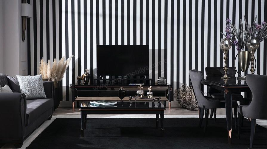Glorya Siyah Tv Ünitesi