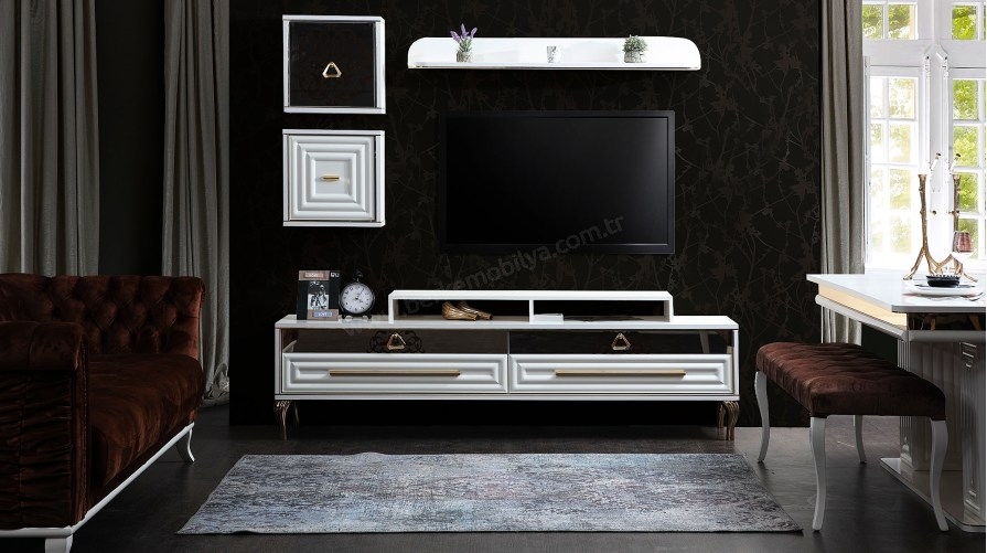 Gold Luxury Tv Ünitesi