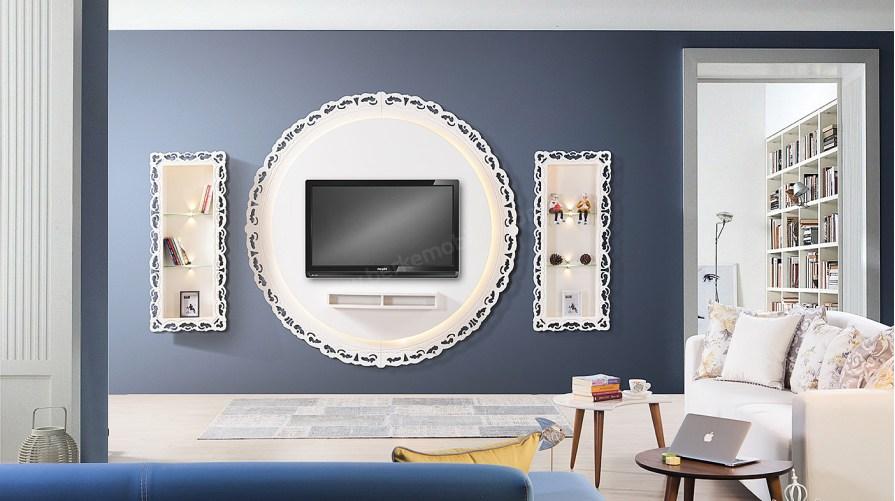 Atmosfer Oval Tv Ünitesi