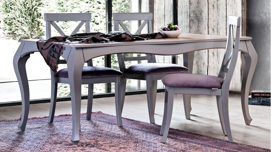 Grey Yemek Masası 6 sandalye Takım