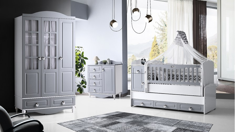 Grey Bebek Odası