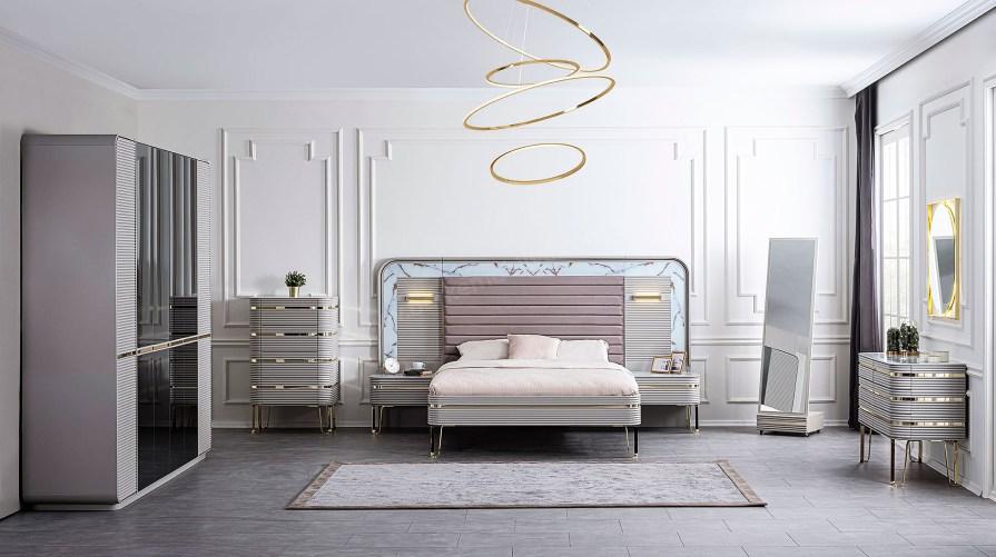 Gucci Lüx Yatak Odası Takımı