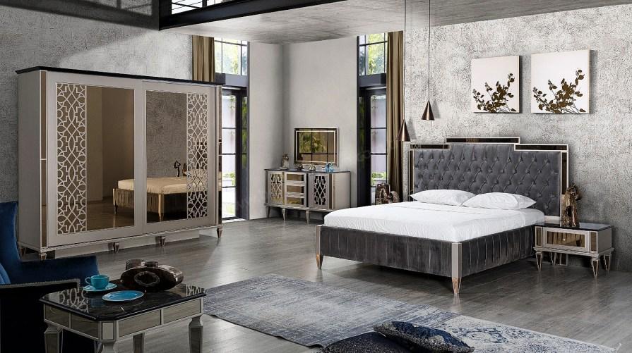 Hidiv Art Deco Yatak Odası Takımı
