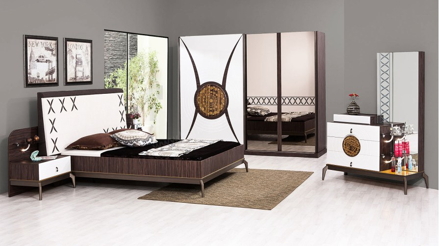 Kelebek Yatak Odası Takımı OUTLET