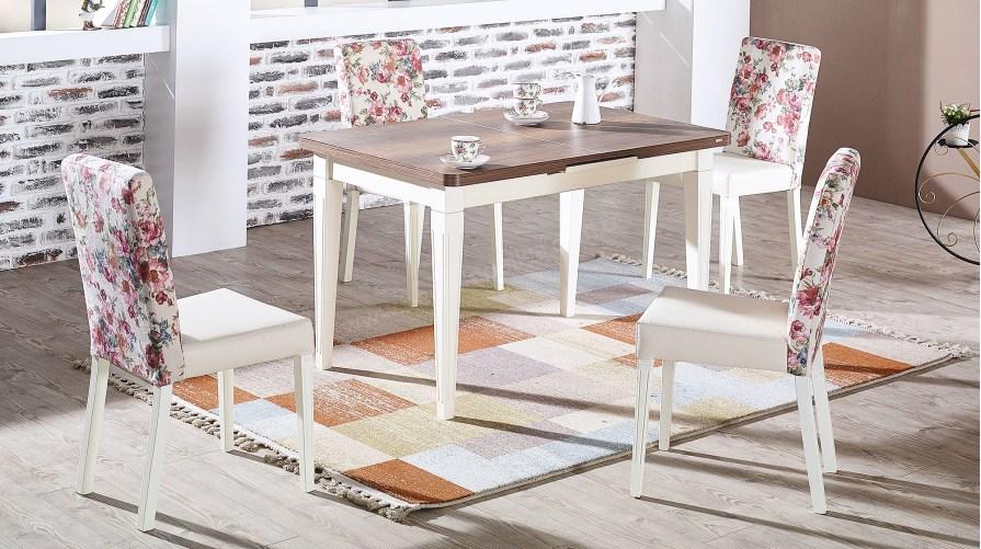 Lara Açılır Masa Lara Sandalye Mutfak Takımı