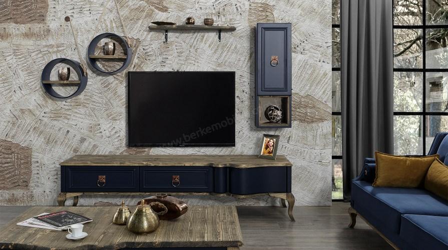 Lexus Wooden Tv Ünitesi