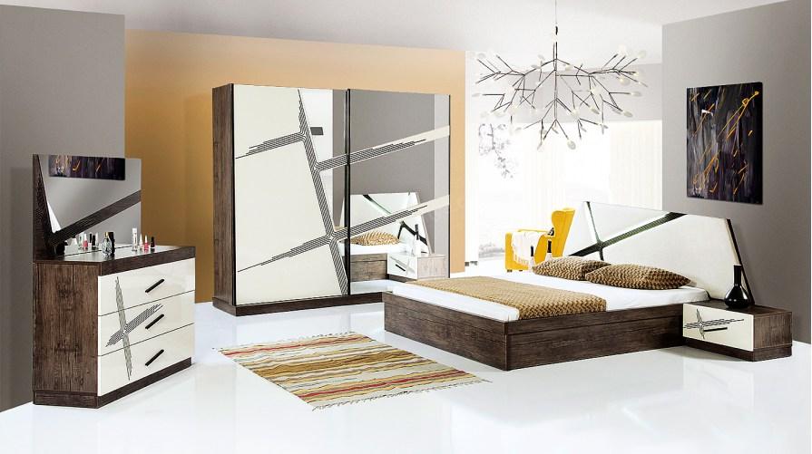 Linea Ekru Yatak Odası