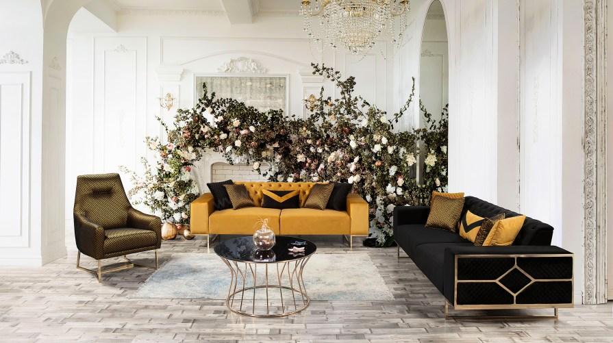 Liona Luxury Koltuk Takımı