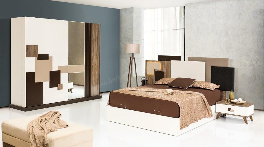 Alyon Modern Yatak Odası Takımı Outlet