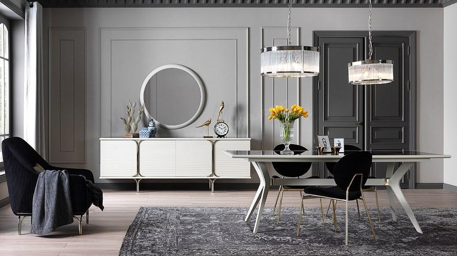 Lotus Luxury Yemek Odası Takımı