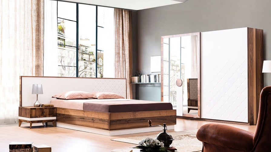 Lukka Modern Yatak Odası Takımı OUTLET