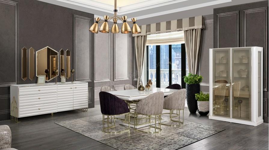 Afili Luxury Yemek Odası Takımı