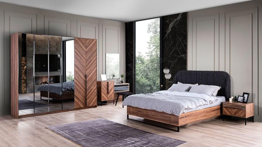 Marsilya Ceviz Yatak Odası Takımı