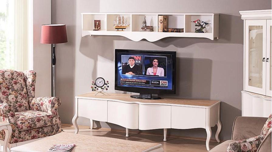 Masal Beyaz Tv Ünitesi