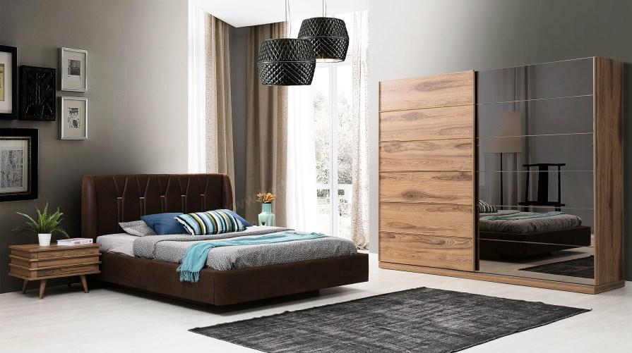 Gold Ceviz Yatak Odası Takımı