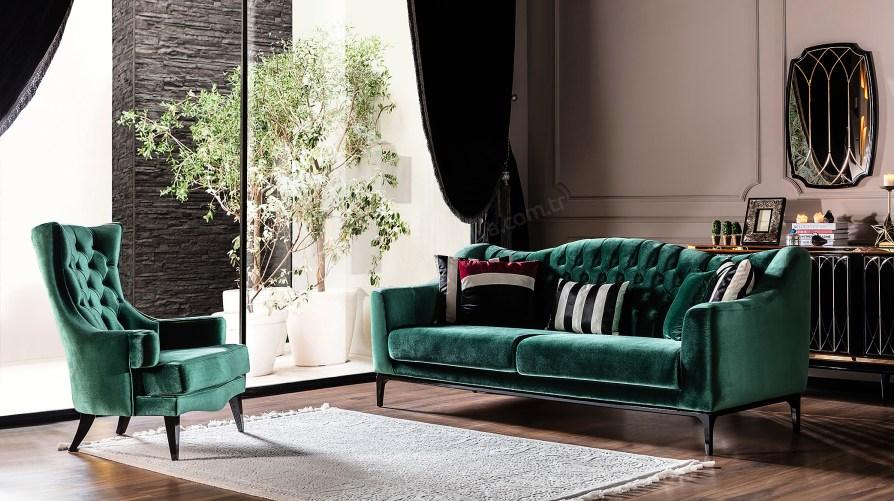 Emily Luxury Salon Takımı One