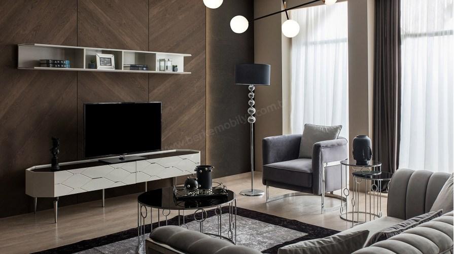Milano Modern Ahşap Tv Ünitesi