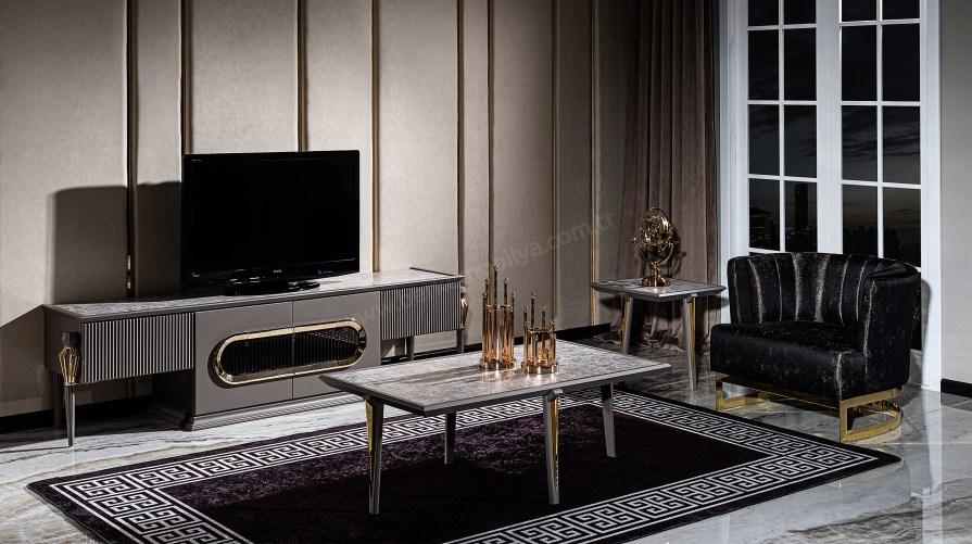 Mimoza New Luxury Tv Ünitesi