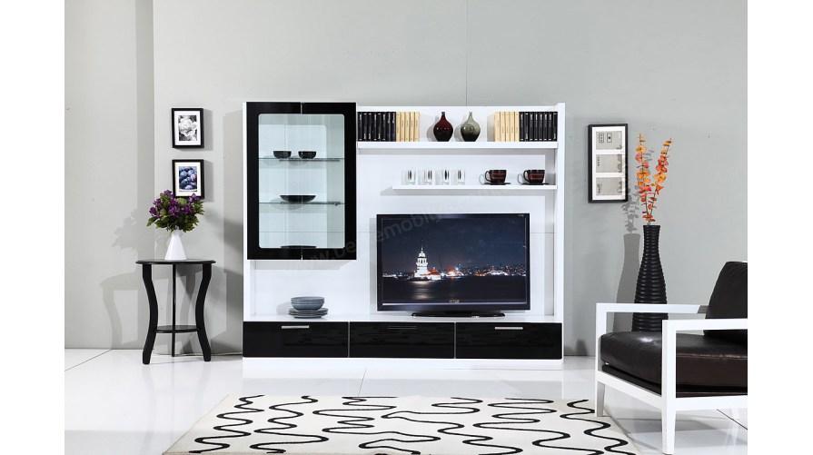 Moda Line Siyah Tv Ünitesi