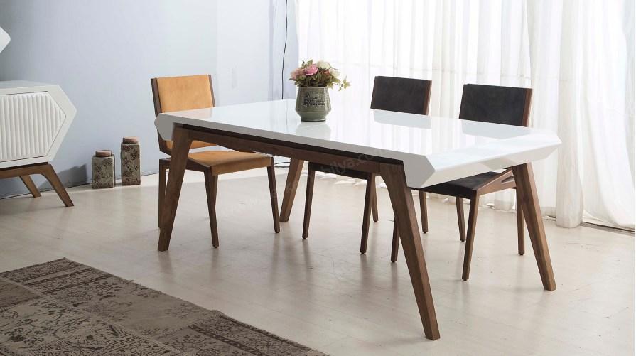 Nancy Ahşap Yemek Masası Sandalye
