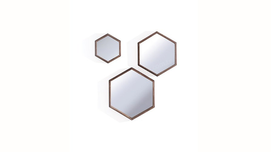 Sri N182 3'lü Ayna