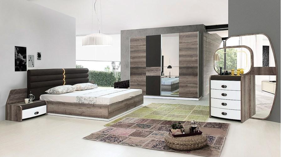 Moda Modern Yatak Odası Takımı OUTLET