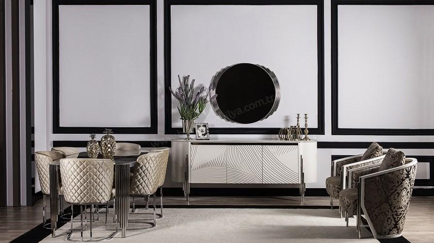 Pandora Luxury Yemek Odası Takımı