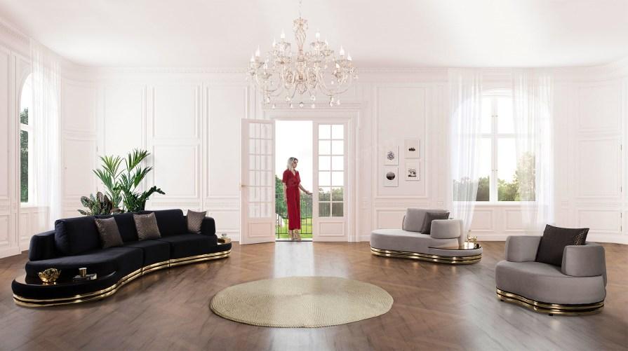 Pierre Loti Luxury Koltuk Takımı