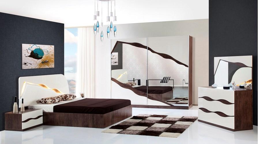 Piyano Modern Yatak Odası Takımı