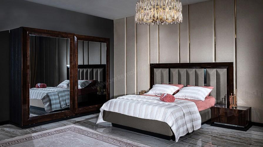 Prada Ceviz Yatak Odası Takımı