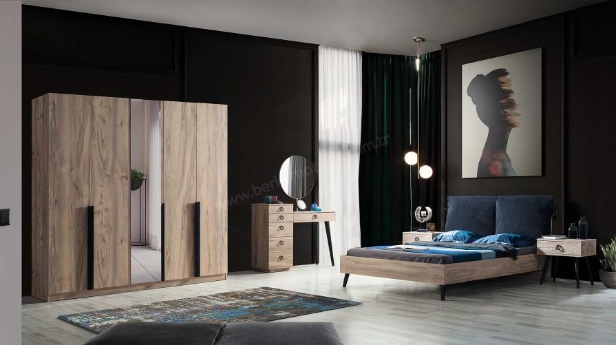 Premium Eko 5 Kapı Yatak Odası Takımı