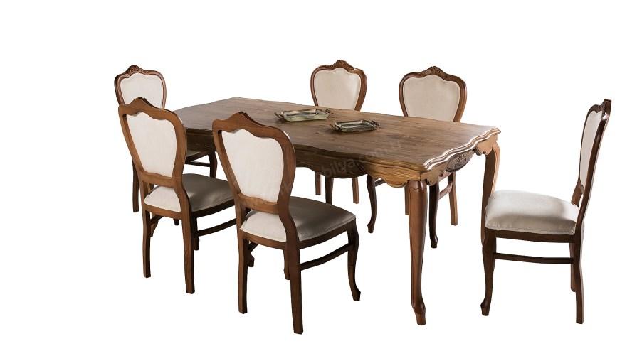 Villa Retro Yemek Masası Sandalye