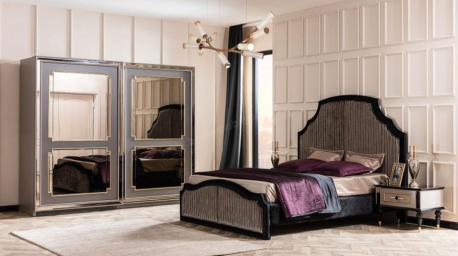 Retro Luxury Yatak Odası Takımı