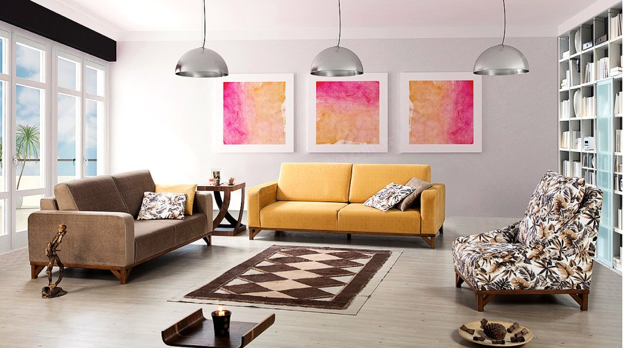 Riona Modern Salon Takımı