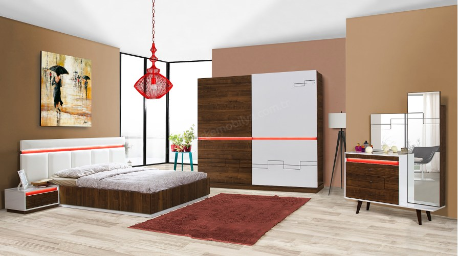 Romantic Yatak Odası Takımı
