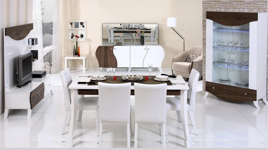 Rosa Modern Yemek Odası Takımı