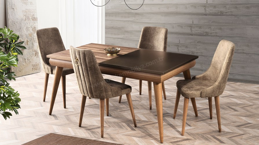 Saafi Yemek Masası Sahara Sandalye Set