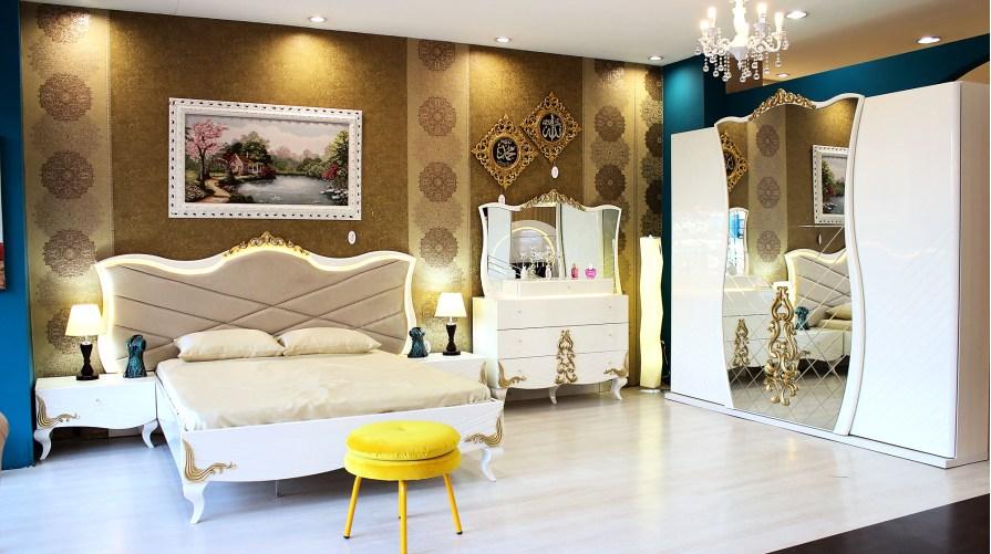 Saraylı Avangarde Yatak Odası Takımı OUTLET