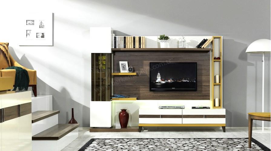 Sedef Modern Duvar Ünitesi