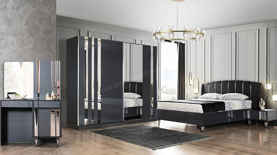 Silver Ekonomik Bazalı Yatak Odası Takımı