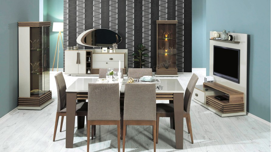 Sofia Modern Yemek Odası Takımı