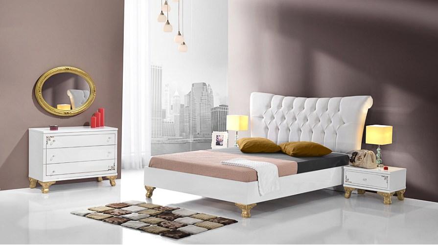 Vezir Beyaz 2kp Yatak Odası Takımı