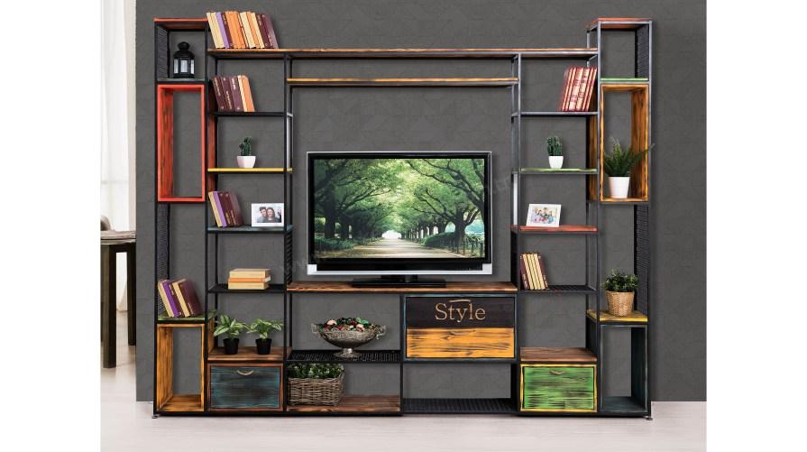 Tarz Style 51 Kitaplıklı Tv Ünitesi