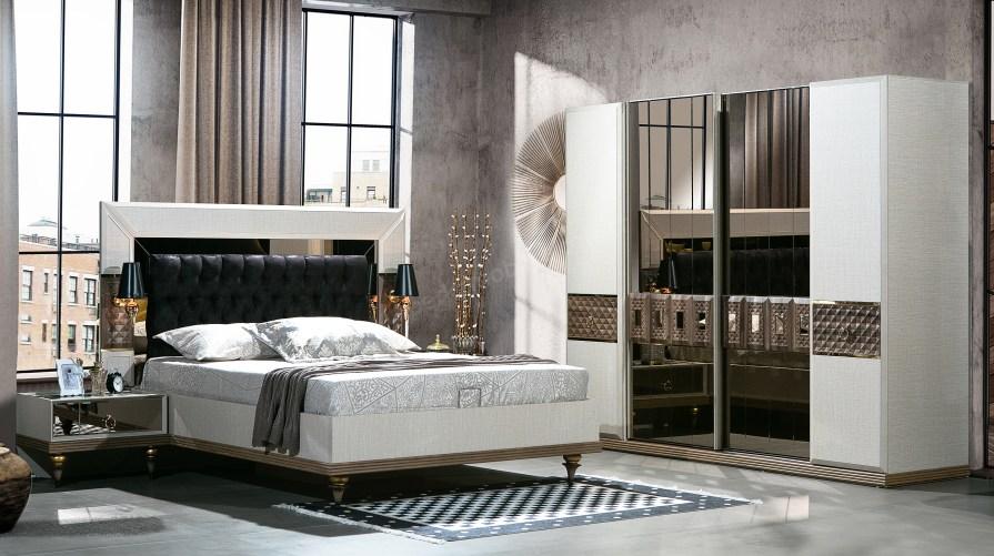 Melek Luxury Yatak Odası Takımı