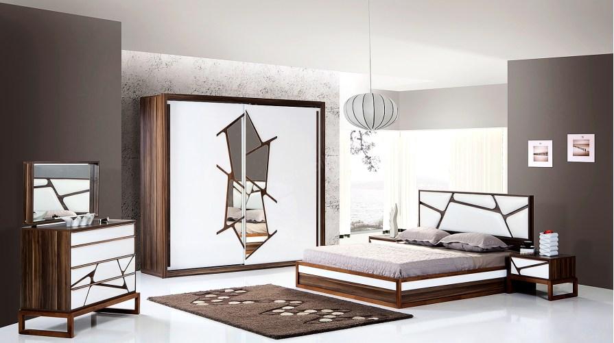 Turtle Modern Ahşap Yatak Odası Takımı