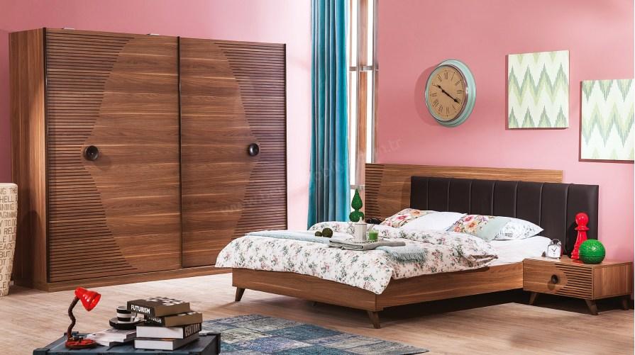 Vega Ceviz Yatak Odası Takımı